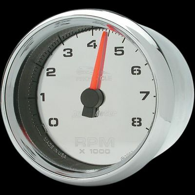 Auto Meter 2 5/8in. Electronic Tachometer  Chrome Face 19308*