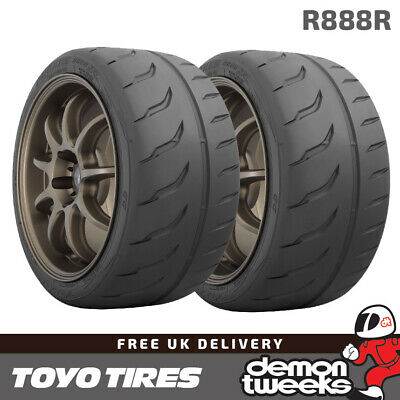 2 x 185//60//14 80V Toyo R888R Trackday//Race E Marked Tyres 1856014