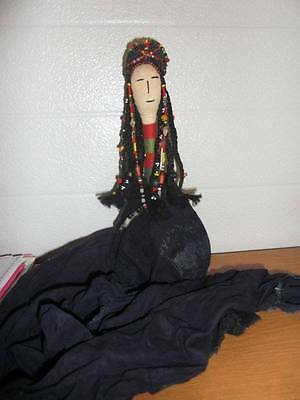 "Antique 11"" Indian Doll (?)"