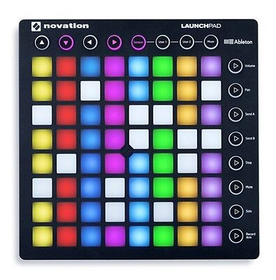 Novation Launchpad Mk 2 Mk2 Mk Ii  Controller + Ableton Live Lite 9 Nuovo