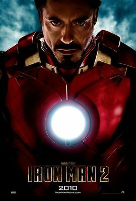 Iron Man 2 - original DS movie poster - D/S 27x40 INTL Advance