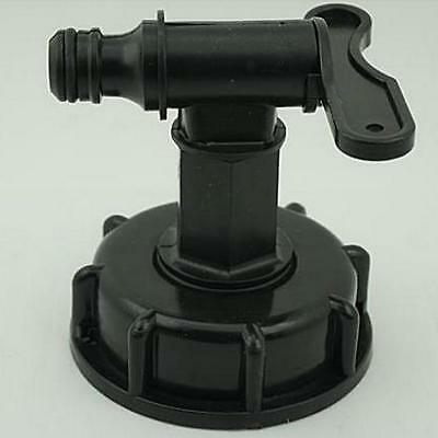 New 1000L IBC To (15mm) Water Tank Garden Hose Adapter Fittings With Switch XG