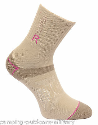 NEW Regatta Ladies ANTI BLISTER Double Layer SOCKS Hiking Walking Padded Womens