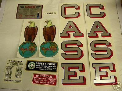 J I Case L Tractor Decal Set - NEW FREE SHIPPING