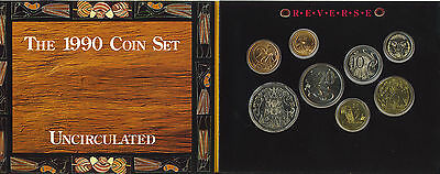 1990 Set of 7 Coins Pays Tribute to Aboriginal People UNC Royal Australian Mint