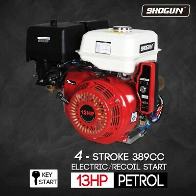 13HP Petrol Gasoline Engine 4 Stroke Stationary Motor Electric Recoil Start