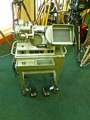 Moviola Series 20 35mm Cutters Editor Excellent shape fully serviced!