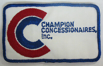Champion Concessionaires Inc. Patch Evansville Indiana IN ? 3 x 5 Inches