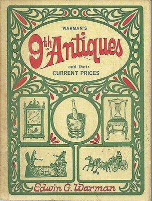 Warman's 9th Antiques and Their Current Prices Paperback 1968