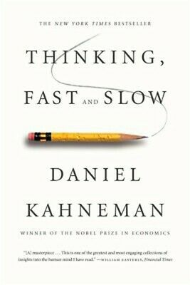 Thinking, Fast and Slow (Paperback or Softback)