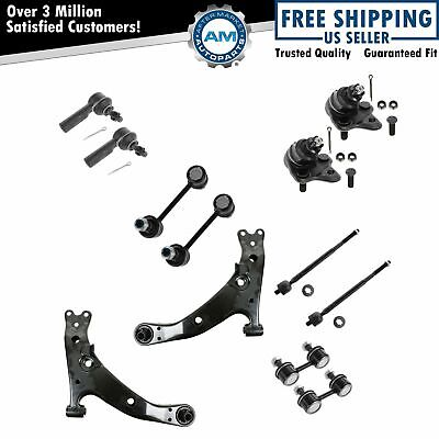 Steering Suspension Kit Front Left Right Set of 12 for 96-02 Corolla Prizm New