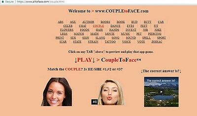 CoupleToFace™ app game is FOR SALE