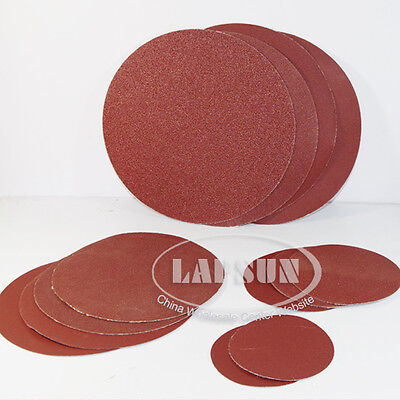 4 5 8 inch Self-adhesive Sanding Paper Disc 60/80/120/180/240/320/600 Grit 125mm