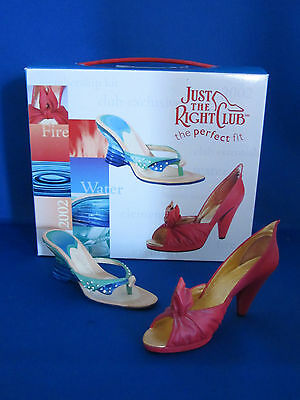 Just the Right Shoe Club 2002 Fire and Water Shoes Willitts