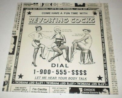 "REVOLTING COCKS - (Let's Get) Physical - 12"" WAX TRAX! RECORDS MAXI SINGLE 1989"