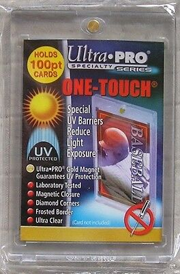 Ultra Pro One Touch 100pt Magnetic Trading Card Holders - Lot of 4 Card Holders