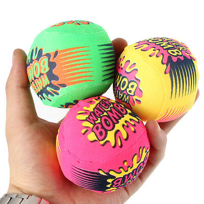 3X Bomb Child Kid Swimming Pool Summer Toy Fun Beach Water Ball Colorful