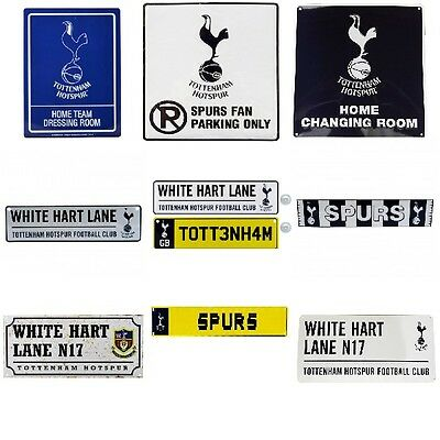 TOTTENHAM  HOTSPUR METAL SIGNS (Metal Door Sign,Street Sign)Official Merchandise