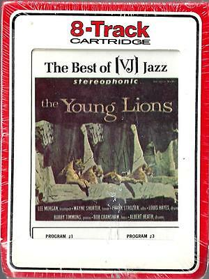 THE YOUNG LIONS: LEE MORGAN, WAYNE SHORTER & OTHERS - Rare Sealed 8-Track Tape