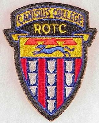 Army ROTC patch; Canisius College