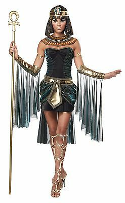 Women's Egyptian Goddess Full Halloween Costume Cosplay Ancient Dress Accessory