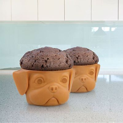 Noki Pug Pup Silicone Cake Case Moulds  PP2733