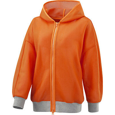 adidas By Stella McCartney Run Image Jacket / Hoodie Orange (F95516) rrp £140