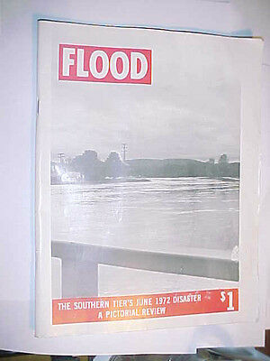 FLOOD The New York Southern Tier's June 1972 Disaster a Pictorial Review book