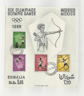 Somalia, Postage Stamp, #339a Used Sheet, 1968