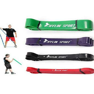 Set Of 3 Heavy Duty Resistance Band Loop Power Fitness Exercise Yoga Work Out Xg