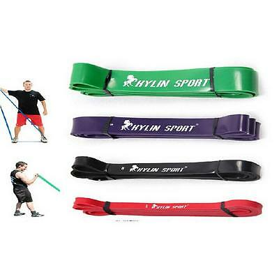 Resistance Band Crossfit Strength Weight Pull Up Fitness Exercise Training Xg