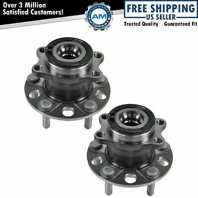 Rear Wheel Hub & Bearing Left & Right Pair for Compass Patriot w/ ABS AWD