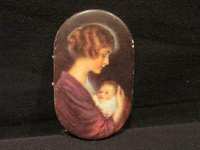 Prudential Insurance Company of America 1920s Advertising Pin Cushion Mom & Baby