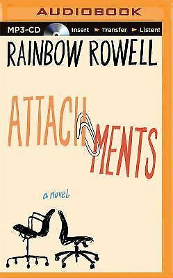 Attachments : A Novel by Rainbow Rowell (2015, MP3 CD, Unabridged)