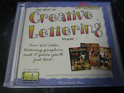 Creative Keepsakes The Best Of Creative Lettering S-24