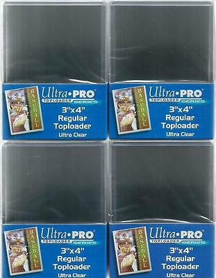 Ultra Pro Trading Card Top Loaders - 100 Brand New Toploaders 76mm x 102mm