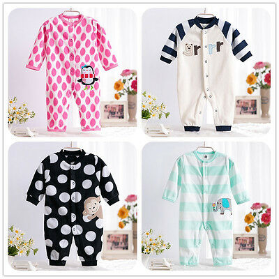 Spring Newborn Baby Clothes Romper Jumpsuit Sleepsuits Outwear One-Pieces New
