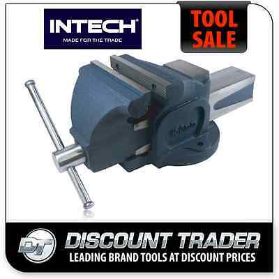 "INTECH Professional 4"" 100mm Bench Vice BV/FS100"