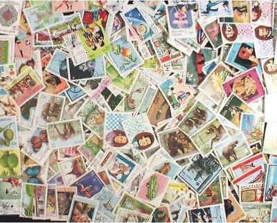 Laos Stamp Collection - 500 Different Stamps