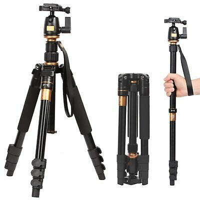 Newest Monopod Ball Head Travel Camera Tripod Universal For Nikon Canon DSLR SLR