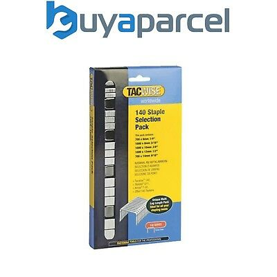Tacwise 0350 140 Serie STAPLE Auswahl Packung 4400 6mm 8mm 10mm 12mm 14mm