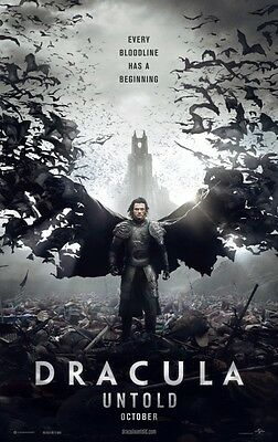 Dracula Untold - original DS movie poster - 27x40 D/S Adv