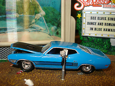 1970 Ford Torino 428 Cj Limited Edition Muscle Car 1/64 Jl