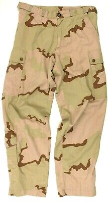 DUTCH ARMY COMBAT TROUSERS in US DESERT CAMO GENUINE MILITARY SURPLUS
