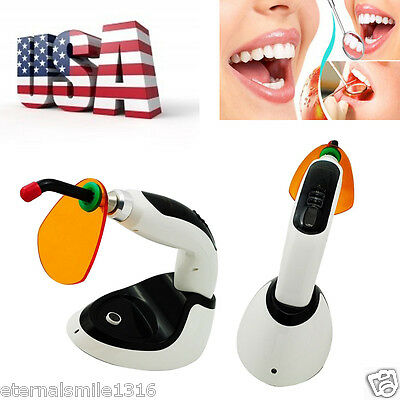 10w dentist 1800MW  LED Dental Curing Light with Whitening Accelerato From US