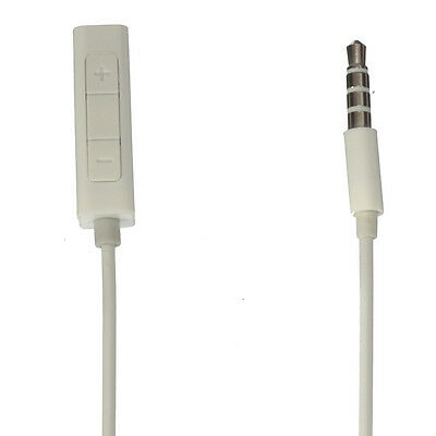 Earphones Headphone Adapter Remote for Apple iPod Shuffle 3rd 4th Generation UK