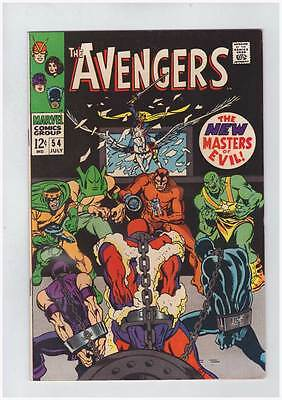 Avengers # 54  1st appearance of Ultron !  grade 5.0 Movie scarce book !