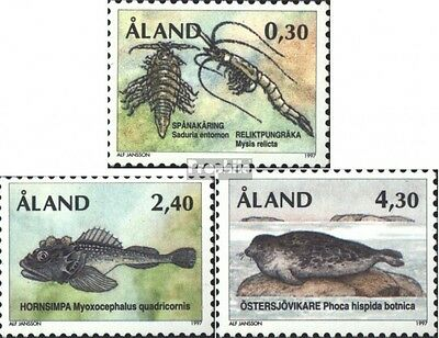 Finland-Aland 124-126 (complete issue) unmounted mint / never hinged 1997 relic
