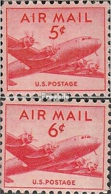 U.S. 552-553 (complete issue) unmounted mint / never hinged 1947 post flight mar