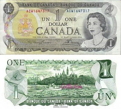 Canada Pick-number: 85a used 1973 1 US dollars